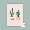 Postcard A6 cacti by Frollein Schmid